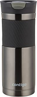 Contigo SNAPSEAL Byron Stainless Steel Travel Mug, 20 oz., Gunmetal