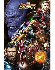 Marvel(マーベル) Avengers: Infinity War(アベンジャーズ/インフィニティ・ウォー) Challenge ポスター [並行輸入品]
