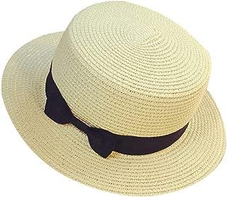 Summer Sun Cap Unisex Casual Trilby Beach Sun Straw Hat Bow Tie Band Sunhat Lady Beach Sunhats Floppy Caps Gorras #LL