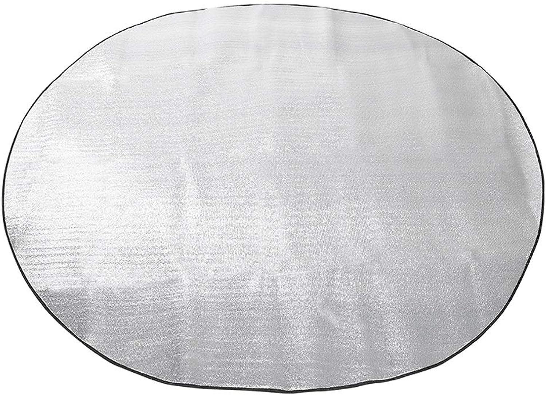 FH Outdoor Picnic Mat, Moisture-Proof Thickening Tent Cushion Waterproof Portable Aluminum Film Moisture-Proof Mat, 200×280cm