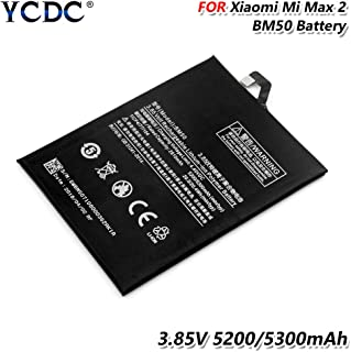 Battery BM50 for Xiaomi Mi Max 2 Max2 Cell Phone Replacement, Replacement BM50 Battery for Xiaomi Mi Max 2