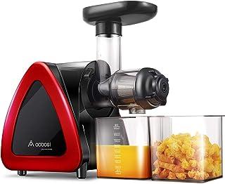 Extracteur de Jus,Aobosi Sans BPA Extracteur à Jus avec Fonction Reverse,Moteur Silencieux Pour Nutritif Jus de Fruits et ...