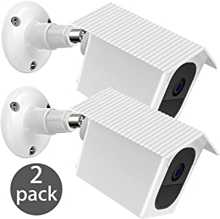 EEEKit Arlo Pro 2 / Pro Wall Mount Bracket, 2-Pack Weather Proof 360 Degree Protective Adjustable Indoor/Outdoor Mount Cover Case for Arlo Pro 2/Pro Security Camera