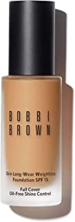 Bobbi Brown Skin Long-Wear Weightless Foundation SPF 15, No. 3 Beige, 1 Ounce