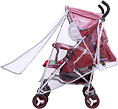 Happy Cherry - Cubierta Universal para Bebé Coche Cochecito Protección de Lluvia Viento Protector de Agua Polvo para bebés