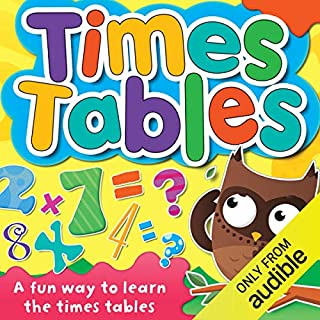 Times Tables audiobook cover art