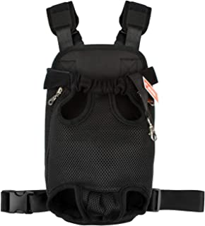 legs out front dog carrier medium
