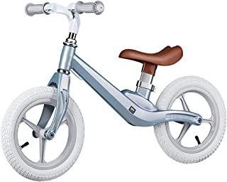 Lightweight Balance Bike for Toddlers and Kids, Age 18 Months to 6 Years, Magnesium Alloy Pre Bike with Rubber Pneumatic T...