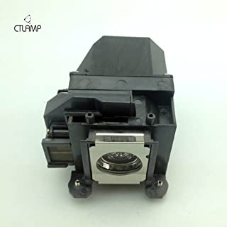 CTLAMP EP57 Replacement Projector Lamp General Lamp/Bulb with Housing For ELPLP57 EB-440W / EB-450W / EB-450Wi / EB-455Wi...