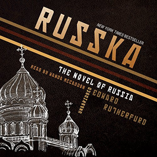 Russka audiobook cover art