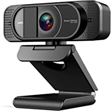 1080P HD Webcam with Microphone and Privacy Cover, Auto-Focus Web Camera 98° Wide Angle Webcam for Computer Zoom, Skype, T...