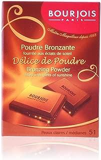 Bourjois Delice de Poudre Bronzing Powder - 52 Peaux Mates/Halees by Bourjois for Women - 0.6 oz