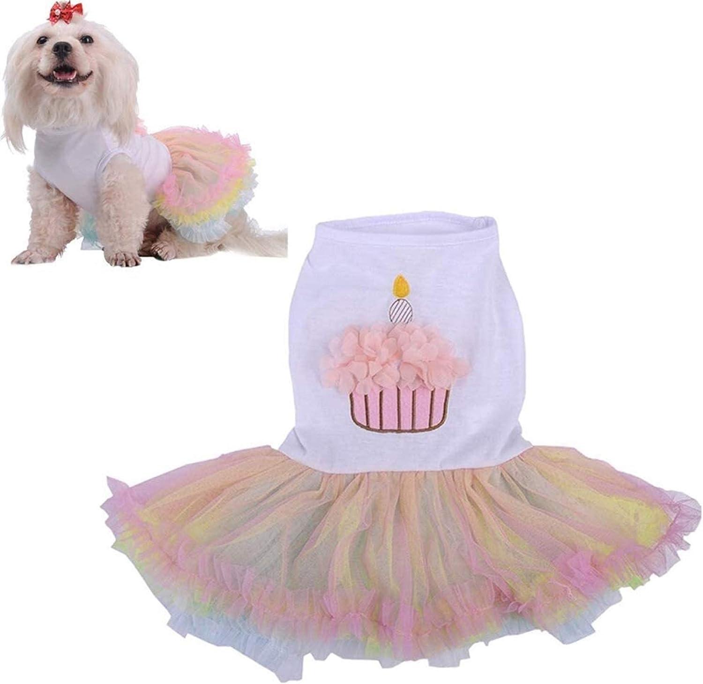 Luckylele Puppy Dress Pet Cat S wholesale Princess Clothes Super intense SALE Dog