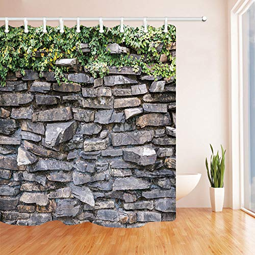cortinas baño piedras