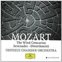 Mozart Wind Concertos Serenades & Divertimenti by Dibner