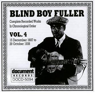 Blind Boy Fuller Vol. 4 1937 - 1938