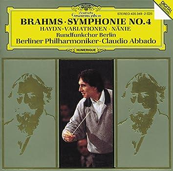 Brahms: Symphony No.4 In E Minor, Op. 98; Haydn Variations, Op. 56a; Nänie, Op. 82