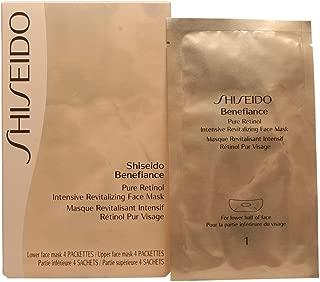 Shiseido Benefiance Pure Retinol Intensive Revitalizing Face Mask, 8 Count
