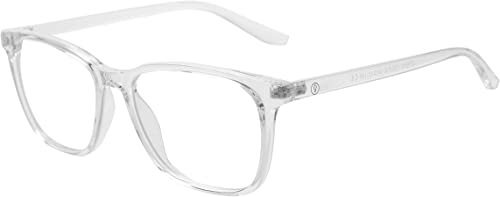 VISU Blue Light Blocking Glasses Clear Frames, Stylish Design Computer Glasses for Women & Men, Anti Eye Strain & Eye...