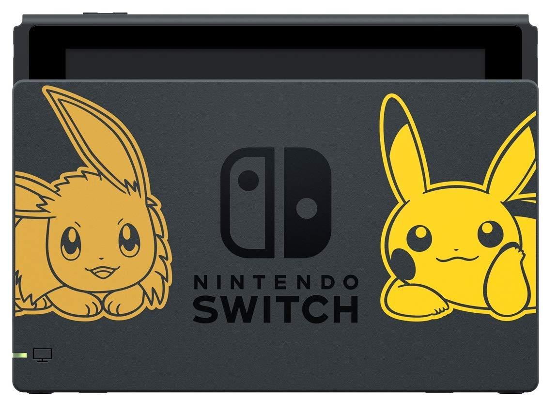 Lets Go Pikachu & Eevee Pokémon Switch Cargador Sólo (Dock ...