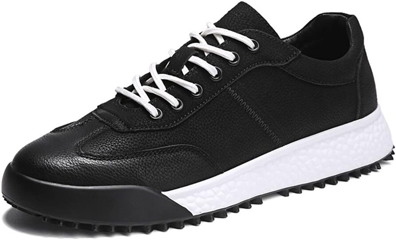 Men's Athletic shoes, Suede,Spring Fall,Comfort Low-Top Sneakers,Non-Slip Travel,Breathable Running shoes,Lightweight Walking shoes, Light Soles (color   A, Size   41)