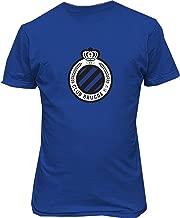 Conla Mens Club Brugge Belgium Soccer Custom Cotton Tee Shirt