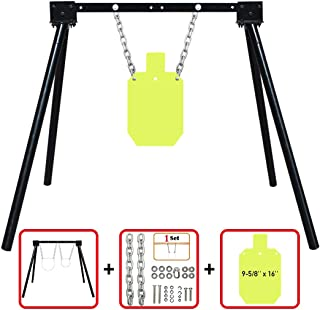 Highwild Steel Target Stand AR500 Shooting Target System Complete Kit Combination (1)