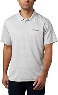 Men's Utilizer Stripe Polo III, Moisture Wicking, Sun...