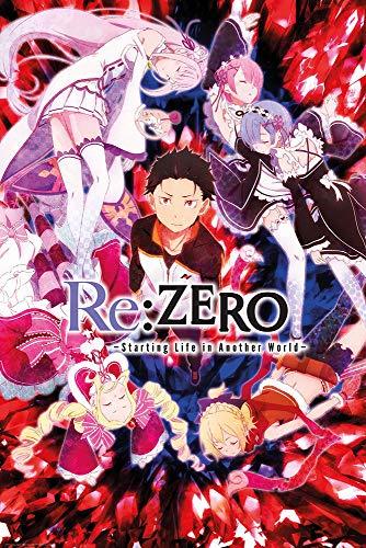 Re:Zero Poster - Studio B Key Art 36x24 Wall Art P4472