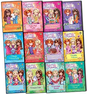 Secret Kingdom Series Collection 1 to 12 Books Set By Rosie Banks,