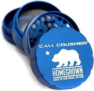 Cali Crusher Homegrown 4 Piece Grinder Blue