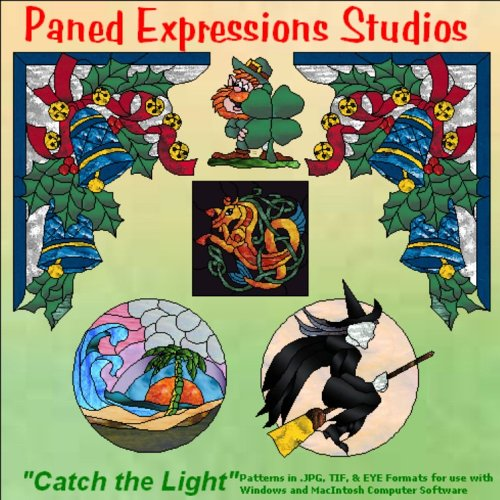 """Stained Glass Pattern Collection - \""""Catch the Light\"""""""