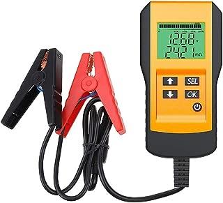 seiyishi バッテリーテスター バッテリーチェッカー バッテリーアナライザ 電圧測定 車 電圧計 テスター 自動車バッテリー診断 自動車 メンテナンス カー用品 SY-KDW-01