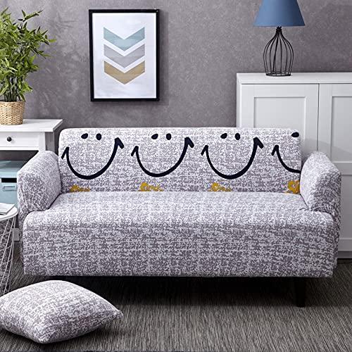 WXQY Funda de sofá elástica para Sala de Estar Todo Incluido Funda de sofá Antideslizante elástica combinación de Funda de sofá de Esquina en Forma de L A8 4 plazas