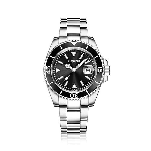 f5e7534006f Blenheim London Navigator Luminous Sapphire Glass Watch