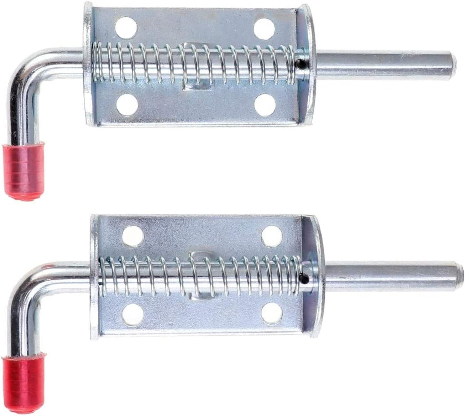 BERTY·PUYI 2pcs Spring Latch Lock Barrel Dallas Mall Washington Mall Heavy Metal Dut Bolt