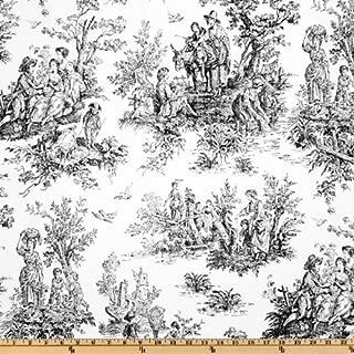 Premier Prints Colonial Toile Black/White