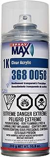 Spray max 10.6oz Aerosol 1k Acrylic Clearcoat 3680058