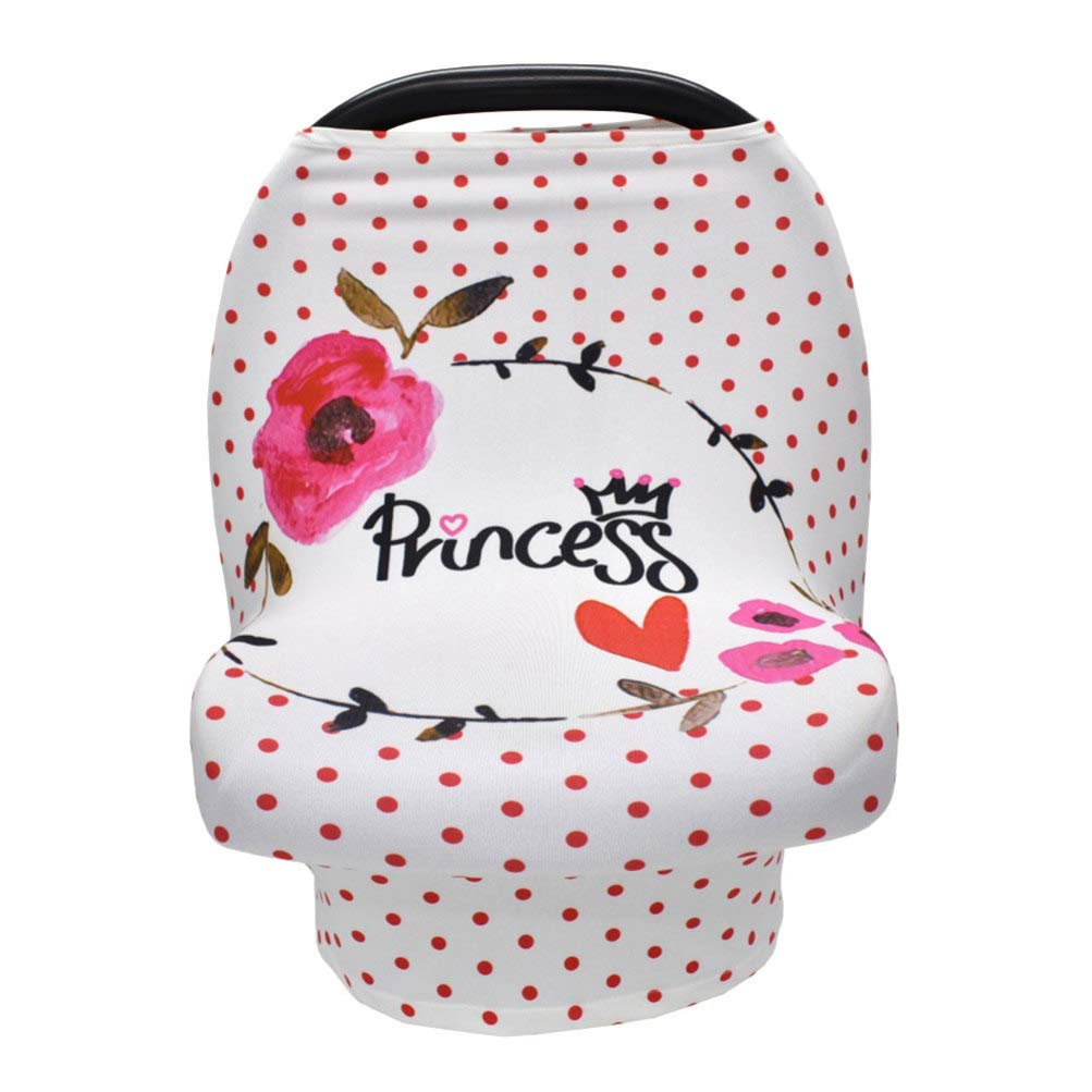 Year-end annual account Toyvian Nursing Cover Breastfeeding Scarf Bre Rosy Dots Princess Year-end annual account