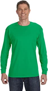 Gildan G540 5.3 Oz. Heavy Cotton Long-Sleeve T-Shirt - Irish Green - Xl