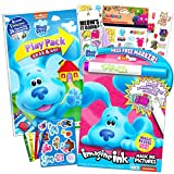 Blue's Clues and You! Coloring Book Set ~ Blues Clues Imagine Ink Book with Magic Pen, Play Pack with Fun-Size Activity Book, Crayons, Blues Clues Stickers (Blues Clues Party Supplies)