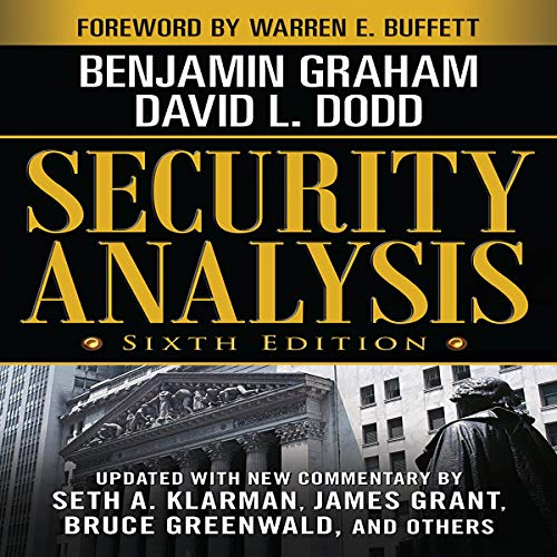 Security Analysis: Sixth Edition audiobook cover art