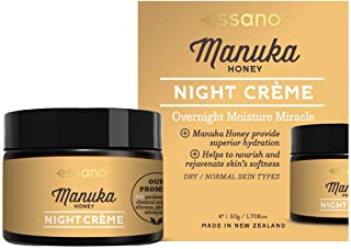Essano Manuka Honey Night Creme - Overnight Moisture Miracle, 50g