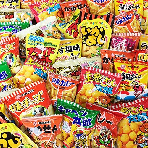 スナック菓子!駄菓子好き大集合!超メガ盛り!10種類100袋セット