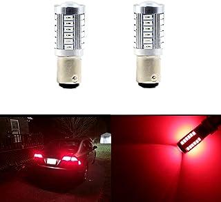 Brilliant Red 1157 BAY15D 1154 1196 1178 1142 1034 1035 1016 2057 2357 2397 7528 7225 3496 198 94 12V Red LED Car Light Led Bulb for Brake Light LED Bulbs Parking Tail Light