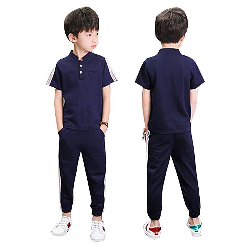 セットアップ 男の子 子供服 2点 Tシャツ ロングパンツ 半袖Tシャツ ズボン 男の子 ボーイズ 夏服 上下セット