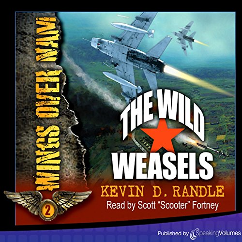 The Wild Weasels audiobook cover art