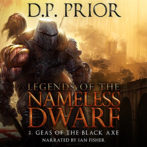 Geas of the Black Axe audiobook cover art