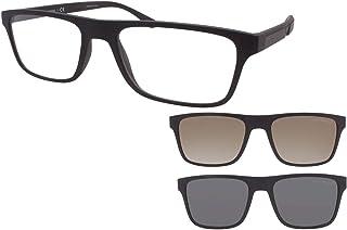 Emporio Armani EA 4115 Matte Black/Clear Black/Grey Clip-On 54/18/145 men Sunglasses