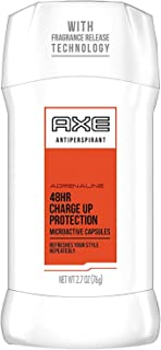AXE Antiperspirant Deodorant Stick for Men, Charge Up Protection 2.7 Ounce (Pack of 1)